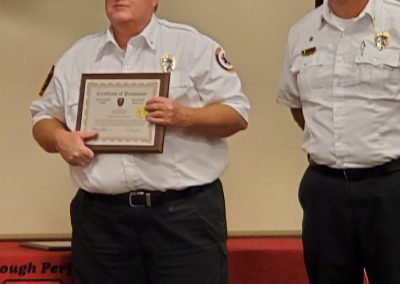 Southern Manatee Fire Rescue recognizes 7 employees with an accumulative total of 213 years.